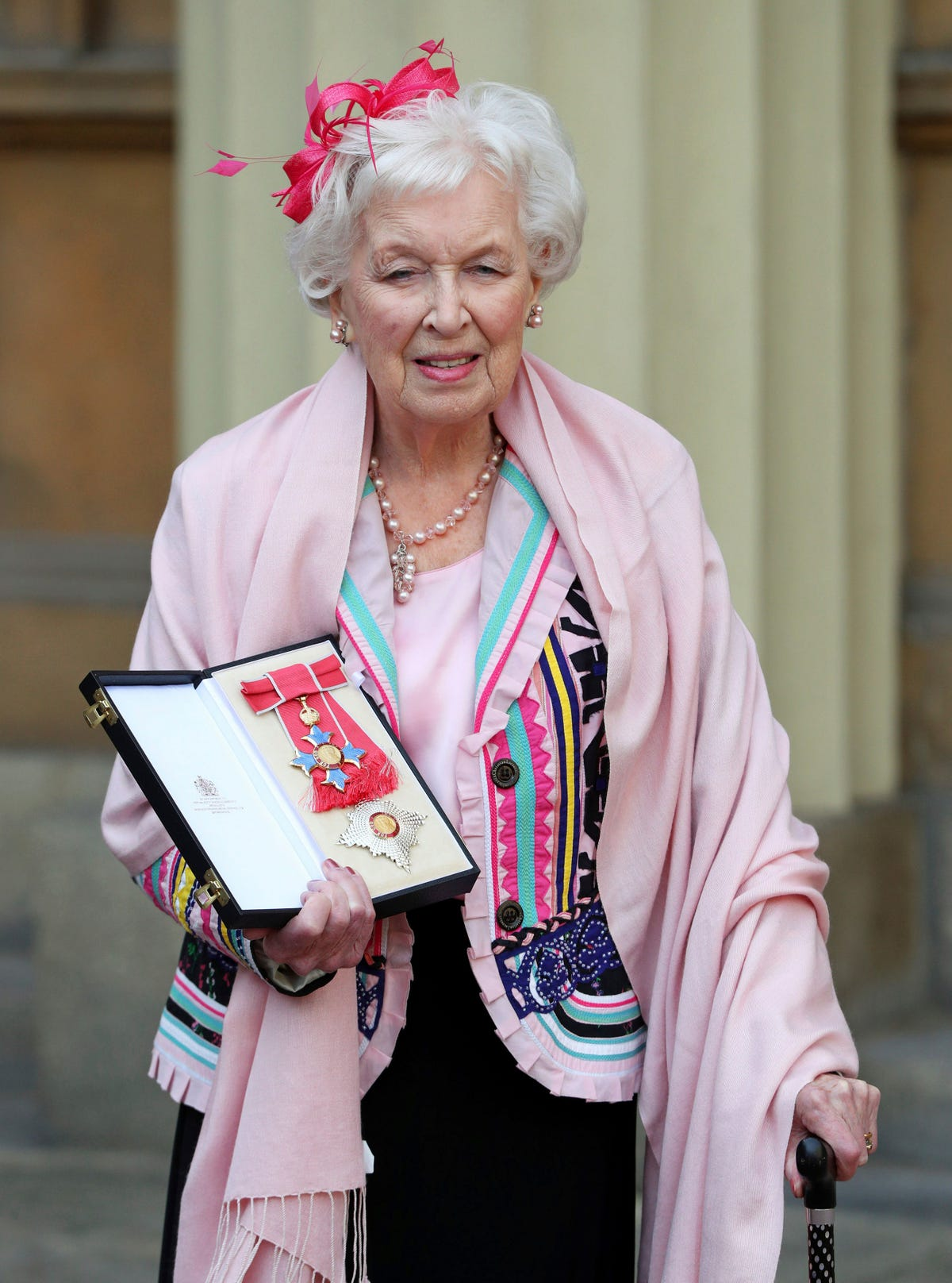 Actress June Whitfield, 'Absolutely Fabulous' matriarch, dies at 93