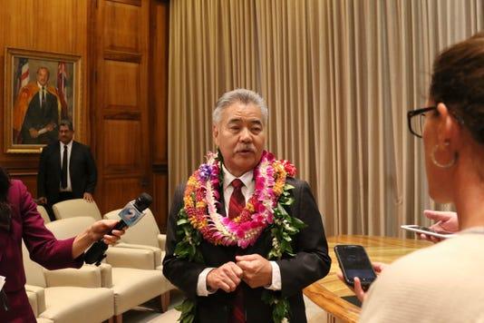 Ap Hawaii Governor A Usa Hi