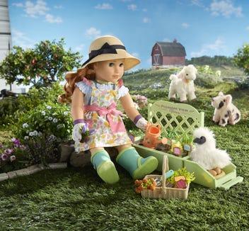 Blaire Wilson's gardening accessories.