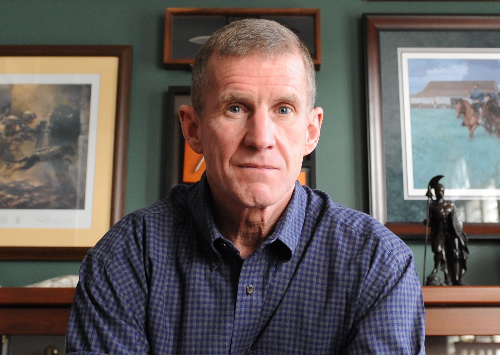"Retired Army Gen. Stanley McChrystal said he believes President Donald Trump is ""immoral"" and doesn't ""tell the truth"" in an ABC interview on Dec. 30, 2018."