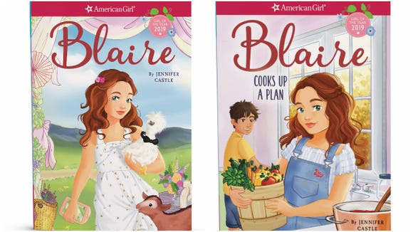 The American Girl chapter-book series by author Jennifer Castle,  published by Scholastic.