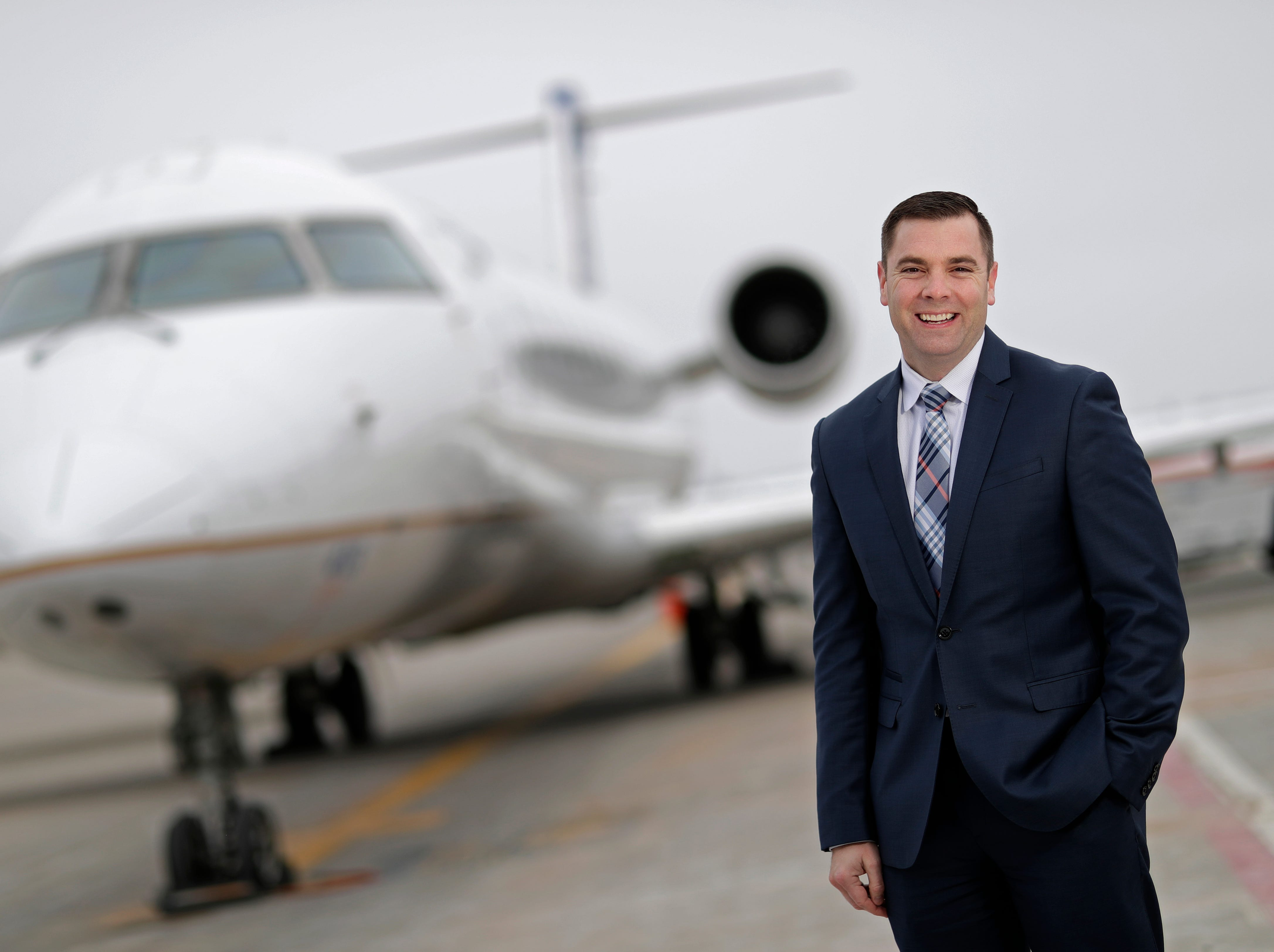 Appleton International Airport Director Abe Weber is a Post-Crescent Person of the Year ... 