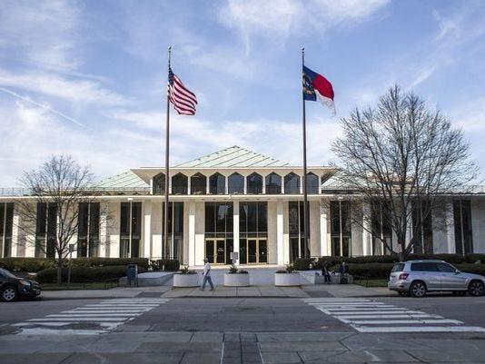The Legislative Building of the North Carolina General Assembly.