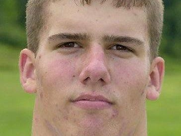 From 2001: Ted Hardenstine, Newark Valley football player