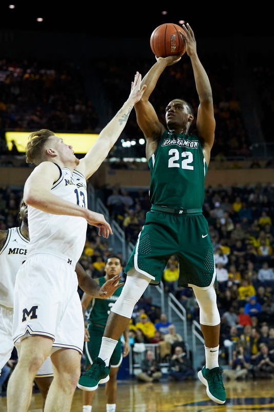 Ncaa Basketball Binghamton At Michigan
