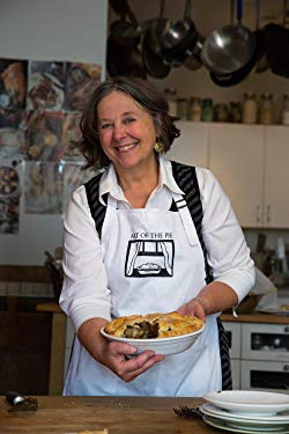 "Kate McDermott talks about ""The Art of the Pie"" Jan. 6 at Eagle Harbor Books on Bainbridge Island."