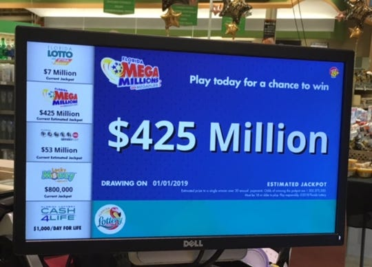 new year s night mega millions jackpot will be 8th highest at 425m