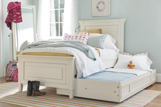 Summer Hill  twin bed with trundle.