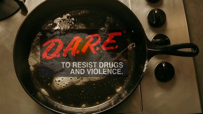 """D.A.R.E has changed since the 1990's, but it still uses that red logo. The """"brain on drugs"""" public service announcement is synonymous with D.A.R.E in the minds of many, but it's from another group."""