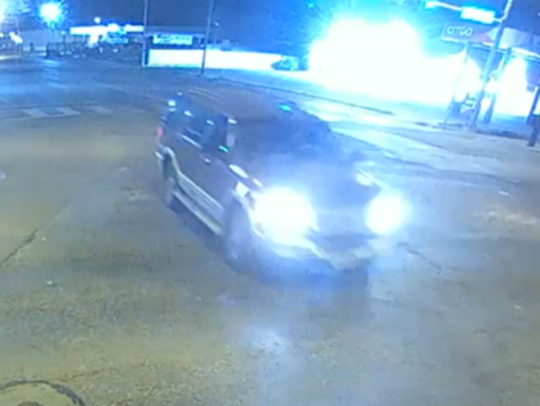 Corpus Christi police are seeking a vehicle and driver of interest in connection with a fatal shooting on State Highway 358 near Kostoryz Road on Saturday, Dec. 29, 2018. Anyone with information should call detectives at 61-886-2881.