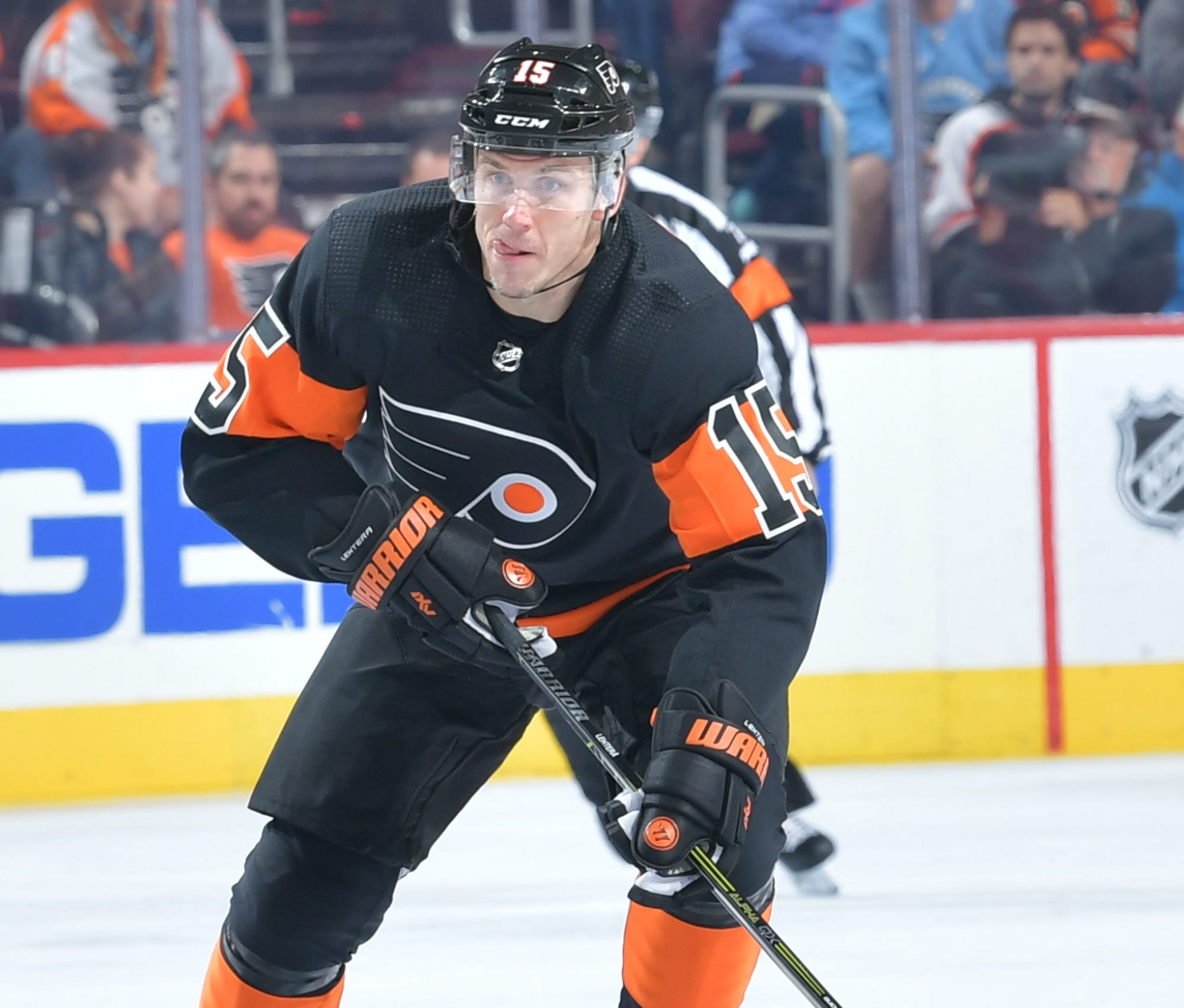 Jori Lehterä has played in 24 games this season, but has been a healthy scratch since Dave Hakstol was fired.
