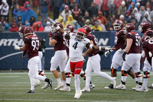 Military Bowl Cincinnati Bearcats Vs Virginia Tech Hokies