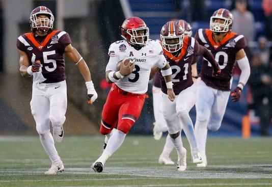 Military Bowl Cincinnati Bearcats Vs Virginia Tech Hokies