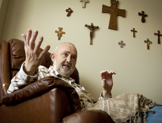 Father Everett Hemann lived out his last days at the Windhaven Assisted Living Center in Cedar Falls. Hemann died of cancer in 2012 at the age of 66.