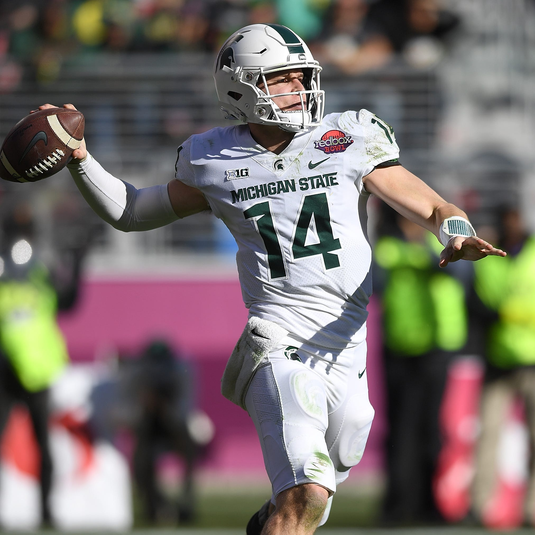 Michigan State football's first star of spring practice: The offense?