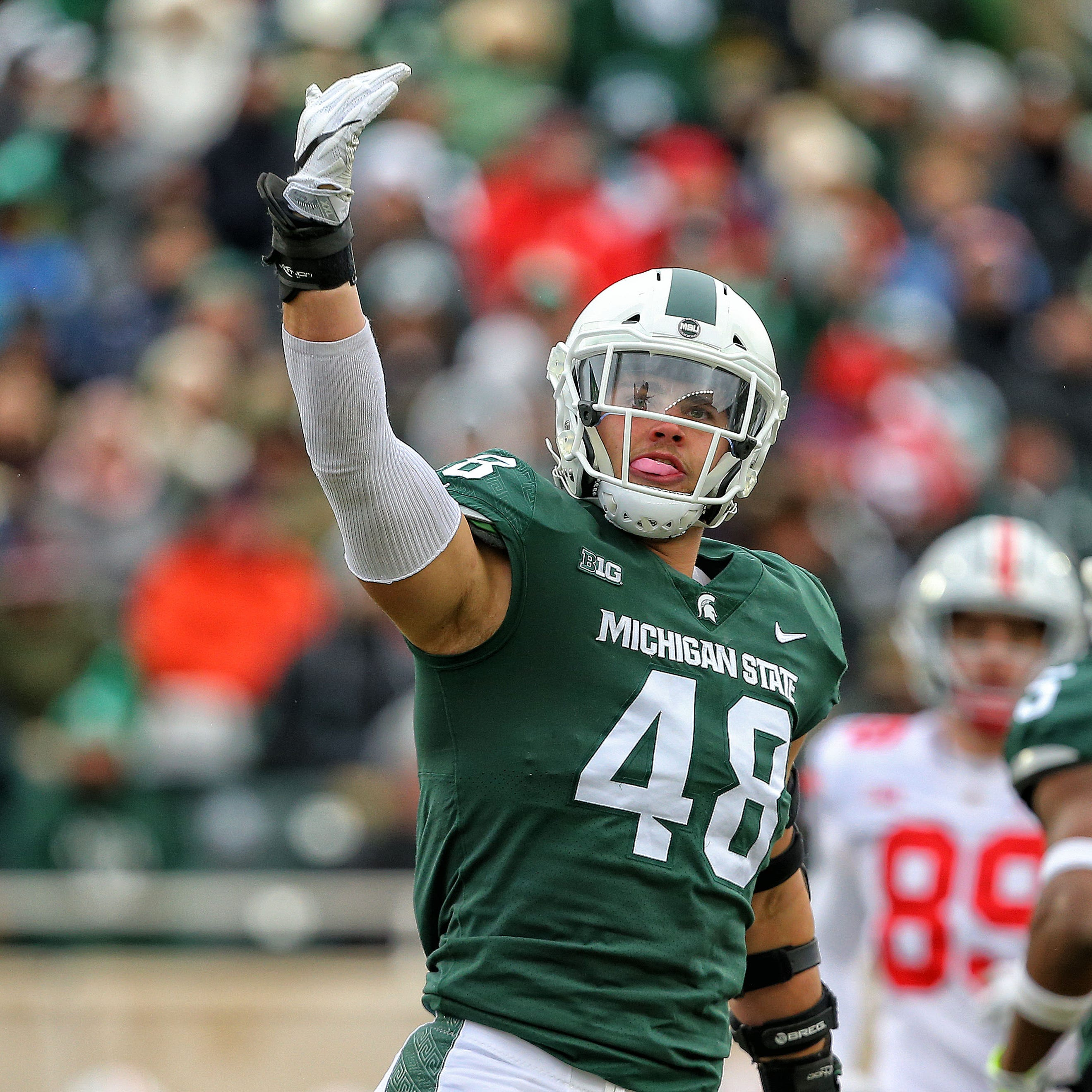 Michigan State's Kenny Willekes (leg) expected to miss spring practice