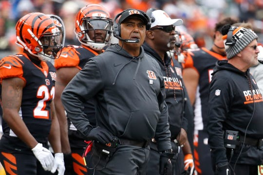 Marvin Lewis' long tenure as Bengals head coach is over.