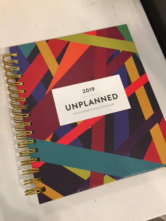 "Andrea Williams' Unplanned Planner is billed as ""The Planner for Non-Planners."""