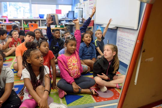 Third-grade students entering Michigan's K-12 public schools this fall will be subject to retention under the state's third-grade reading law if they are not reading at grade level on the state assessment in 2020.