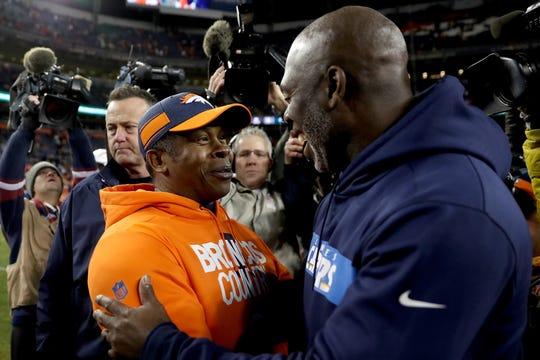 The Broncos fired head coach Vance Joseph on Monday.