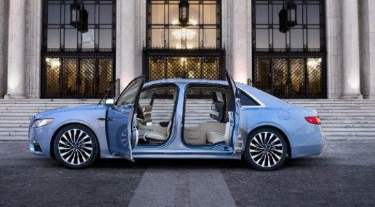Eighty special Lincoln Continentals will be made with suicide doors.  o prevent them from living up to their name, they won't open if the car is traveling more than 2 MPH.