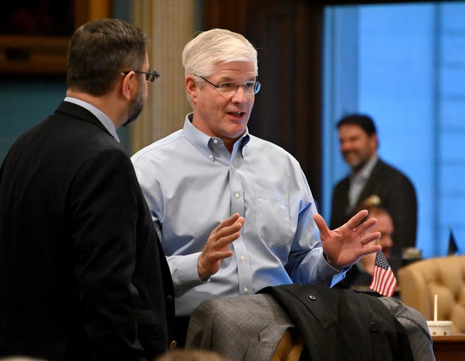 As he assumes leadership of the Senate, Mike Shirkey, R-Clarklake, sees no-fault auto insurance reform as one major opportunity for bipartisan and bicameral compromise.