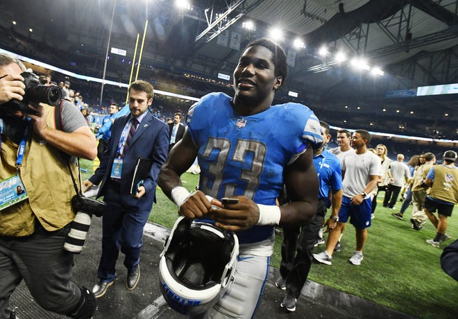 On Monday, the day after the Lions season concluded, Kerryon Johnson acknowledged his injured knee is in good shape, and if the team had made an unlikely late-season run, he probably could have been available to play this weekend.