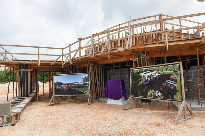The construction site of I Guma Mina'åse' Sister Mary Brigid Perez, R.S.M., formerly the Rigålu House, in Barrigada is shown in this Dec. 31, 2018, file photo.