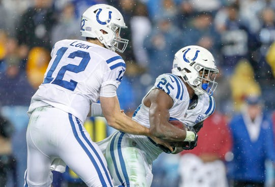 Part of the Colts' offseason focus is to build up a rushing attack that can finish in the top five in the NFL this coming season. Luck is on board.