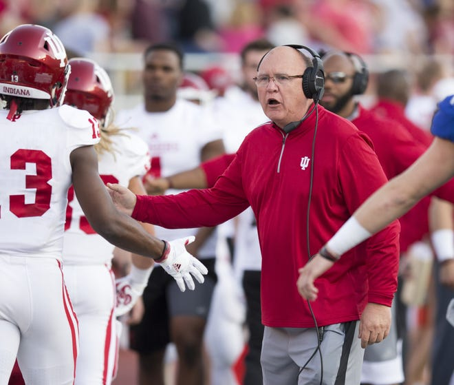 Mike DeBord just completed his second season as IU's offensive coordinator.