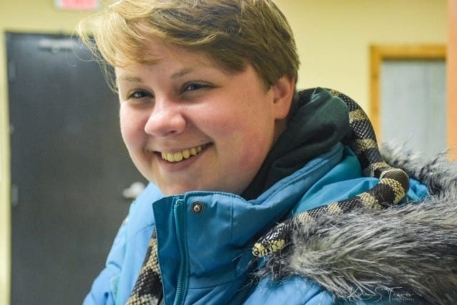 Alexandra Black, of New Palestine, Indiana, studied animal behavior and had just finished an internship at Wolf Park in Battleground, Indiana.