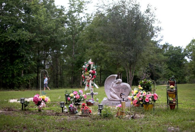 The Norris family has built a cemetery for Lauren Norris on their property in Greene County. Lauren was only 20 when she was killed by a drunk driver. Lauren's father, John Norris, says he stops at the cemetery every day to talk to her.
