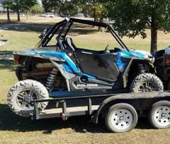 Law enforcement officials recovered a mourning family's stolen ATV in Madison County, Hardin County Sheriff Johnny Alexander confirmed Monday. No arrests have been made and the case is still being investigated.
