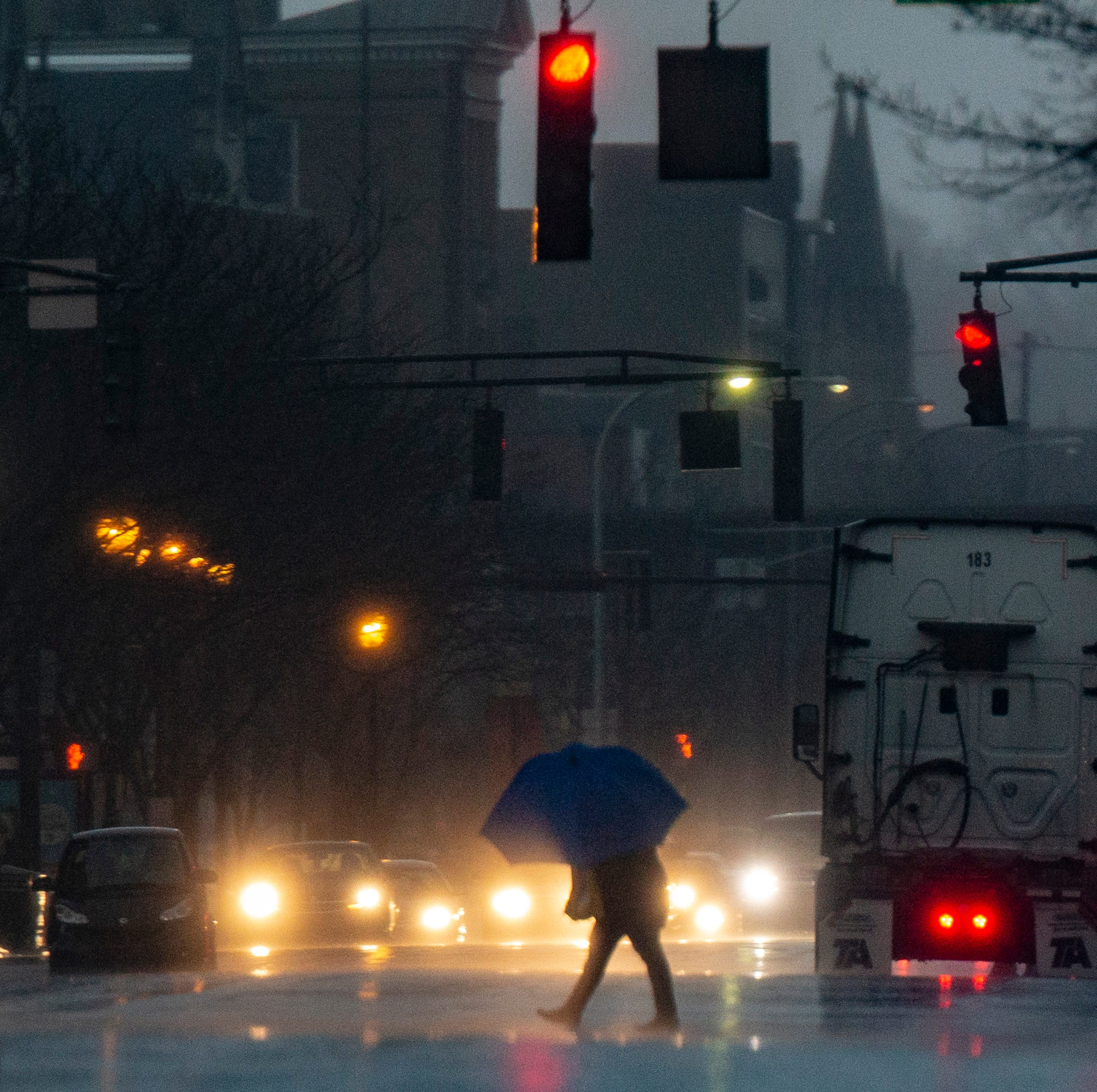 Louisville is about to get drenched this week, and then get very cold