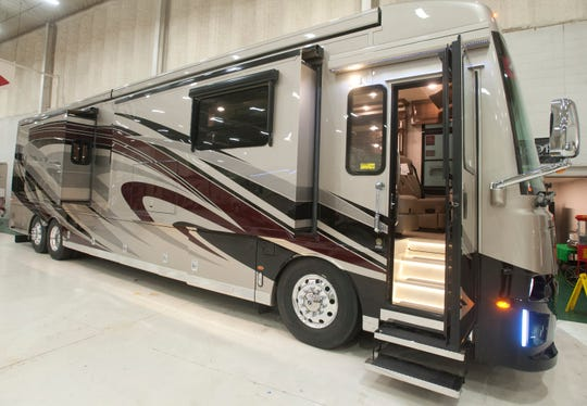 Campers Inn in Clarksville will be featuring this luxurious Newmar Dutch Star model 4362 at the Louisville Boat, RV and Sportshow in January.
