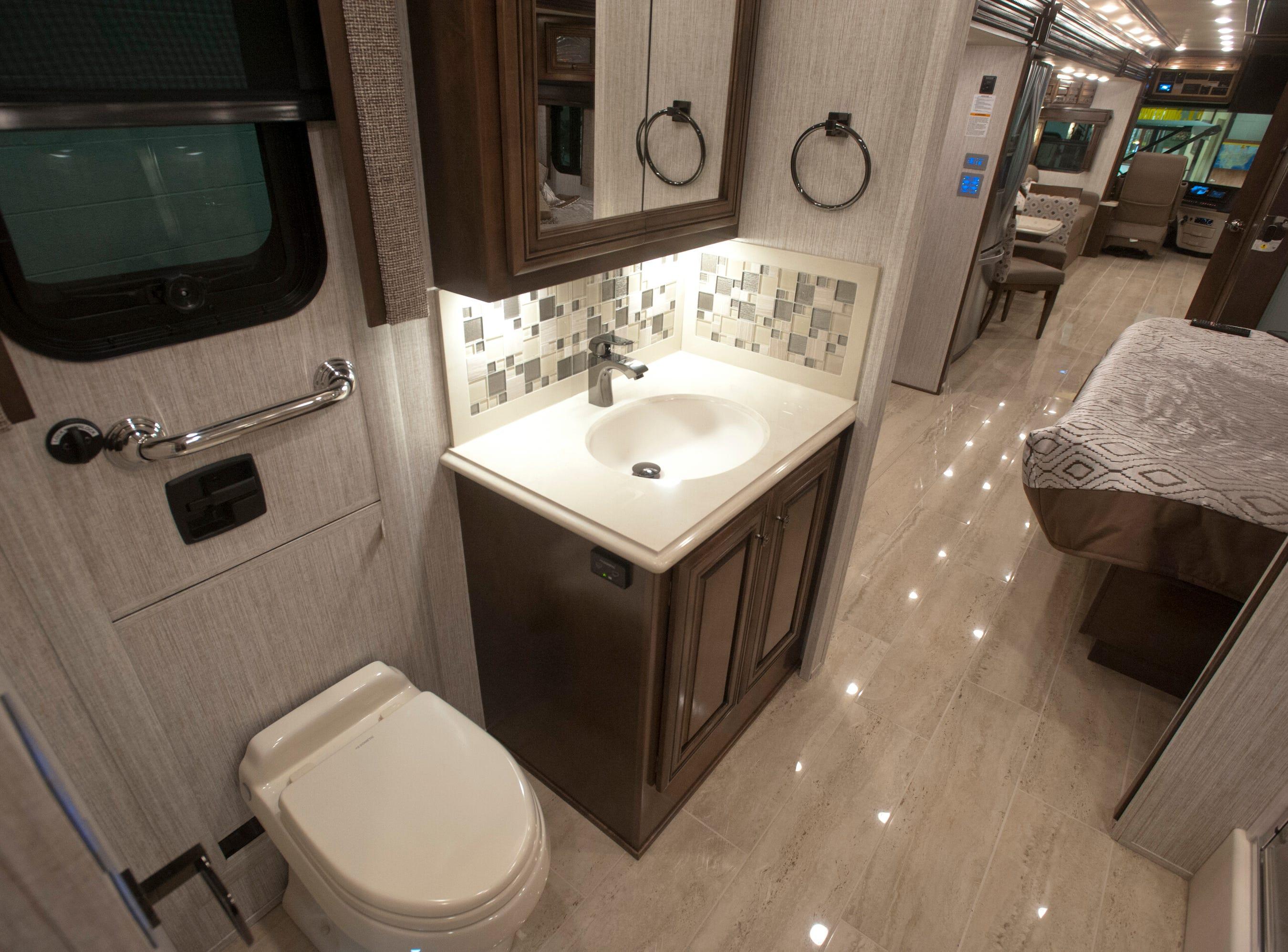 The master suite bathroom.11 December 2018