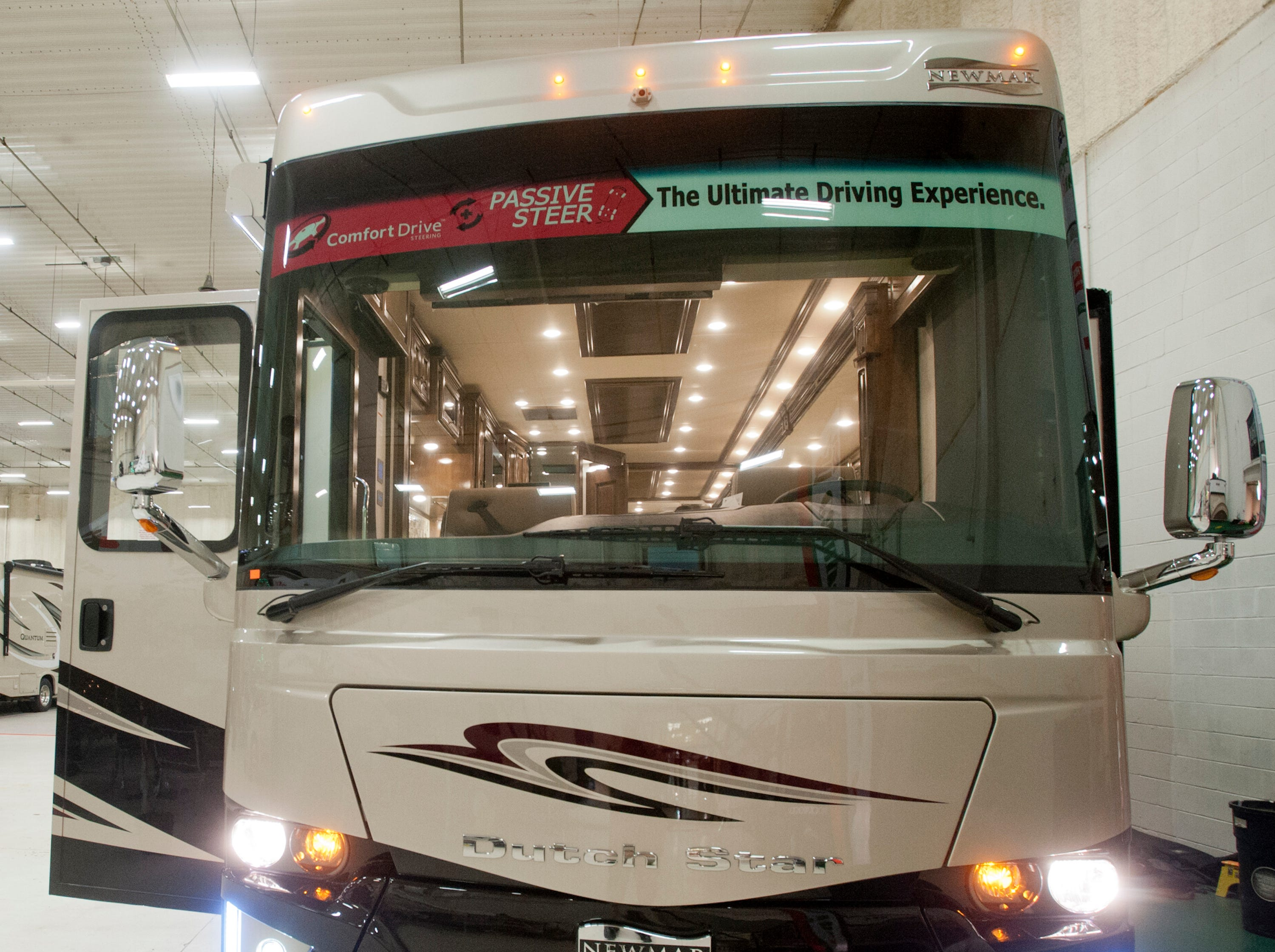 Campers Inn in Clarksville will be featuring this luxurious Newmar Dutch Star model 4362 at the Louisville Boat, RV and Sportshow in January.11 December 2018