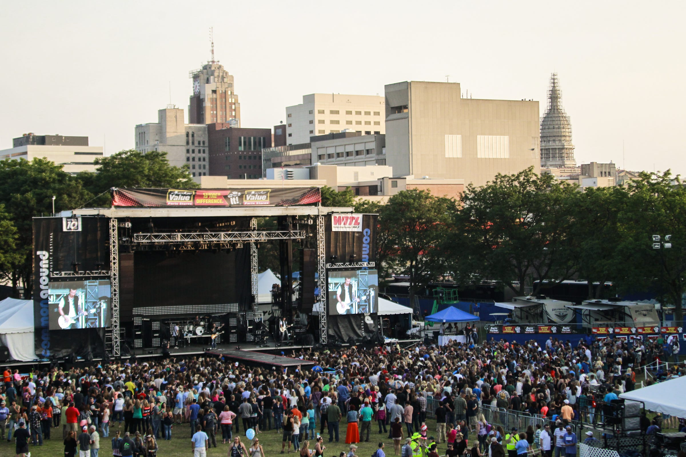 The Common Ground Music Festival will be held June 27 to 30, 2019 at Adado Riverfront Park in downtown Lansing. The multi-day festival started 20 years ago.