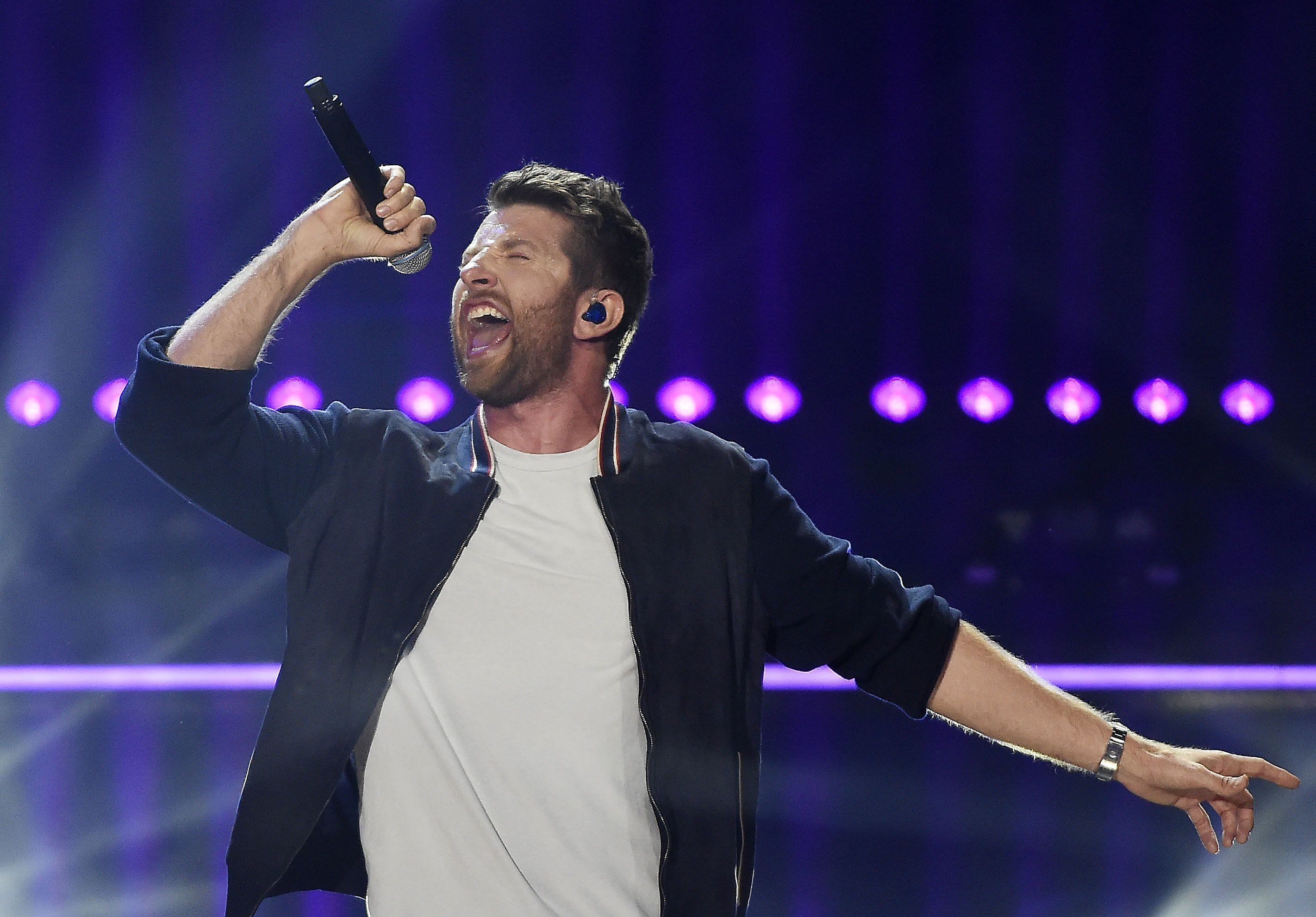 Taste of Country organizers have found success hosting the event at Cooley Law School Stadium, home of baseball's Lansing Lugnuts. Brett Eldredge headlined the 2018 festival.
