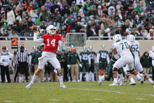 After an injury-plagued junior season, Michigan State quarterback Brian Lewerke will try to bounce back in 2019. The Spartans have played in 11 bowl games over the past 12 years.