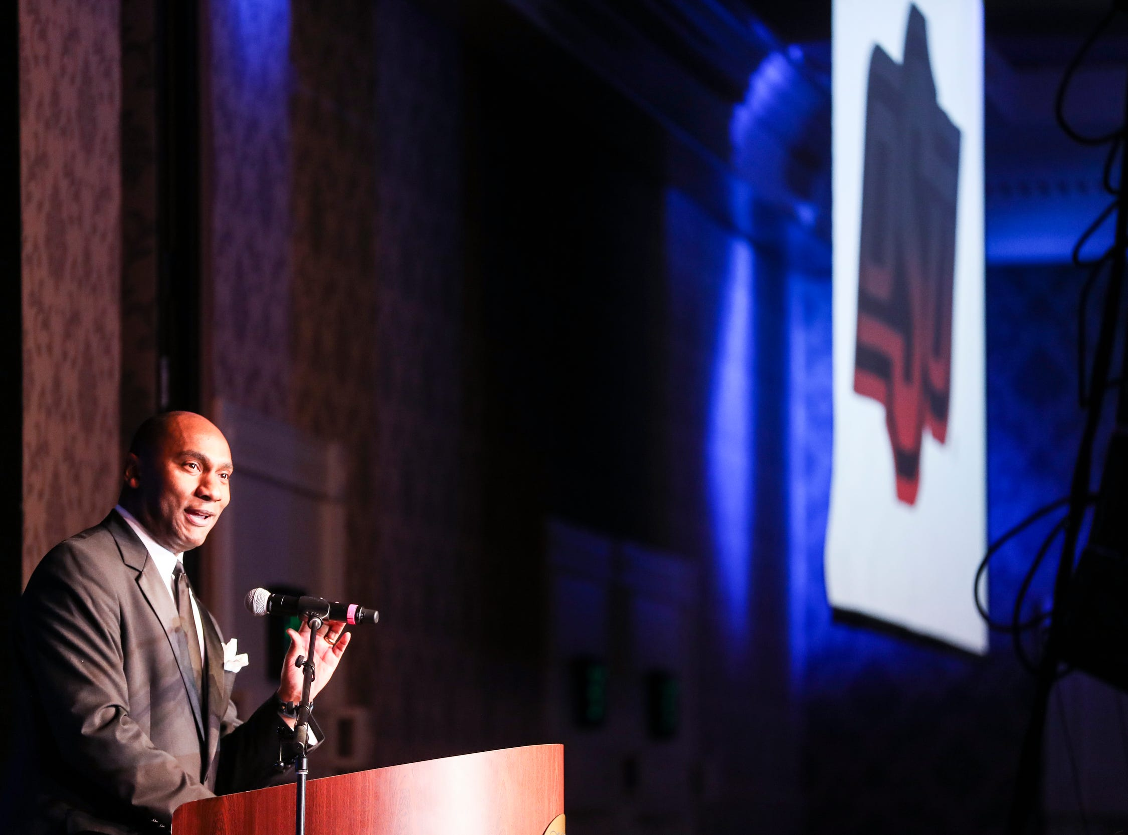 December 30 2018 - Scenes from Sunday evening's AutoZone Liberty Bowl President's Gala. On Monday the Oklahoma State Cowboys and Missouri Tigers play in the 2018 AutoZone Liberty Bowl.