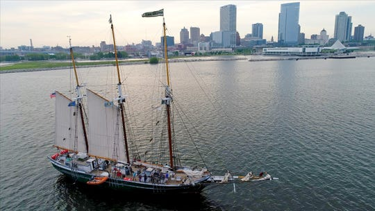 The Denis Sullivan, Discovery World's tall ship, offers excursions from the museum at 500 N. Harbor Drive.