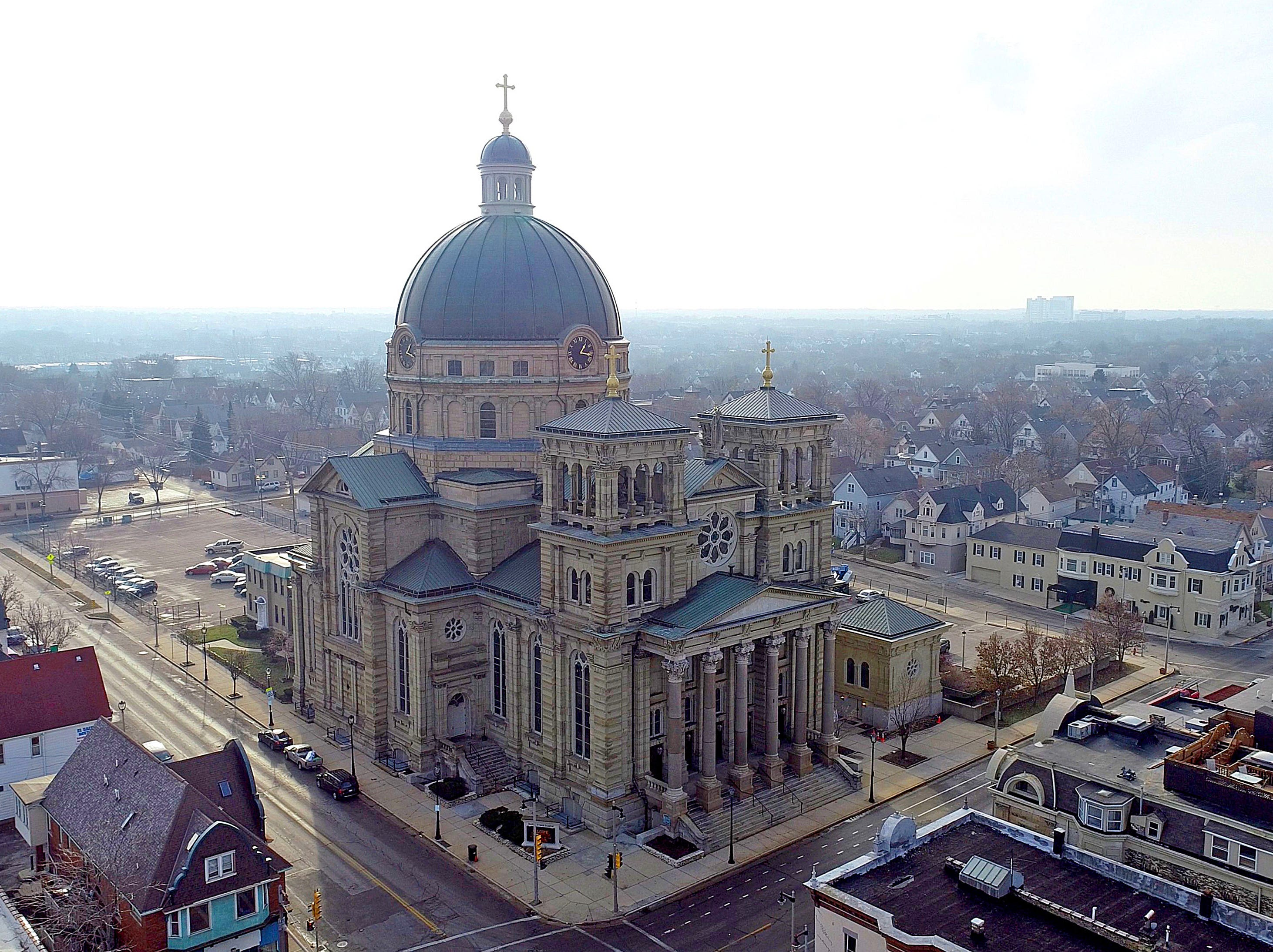 St. Josaphat Basilica at 601 W. Lincoln Ave.