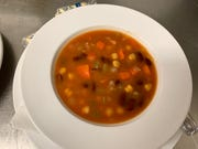Vivere Italian Restaurant serves its signature minestrone daily.