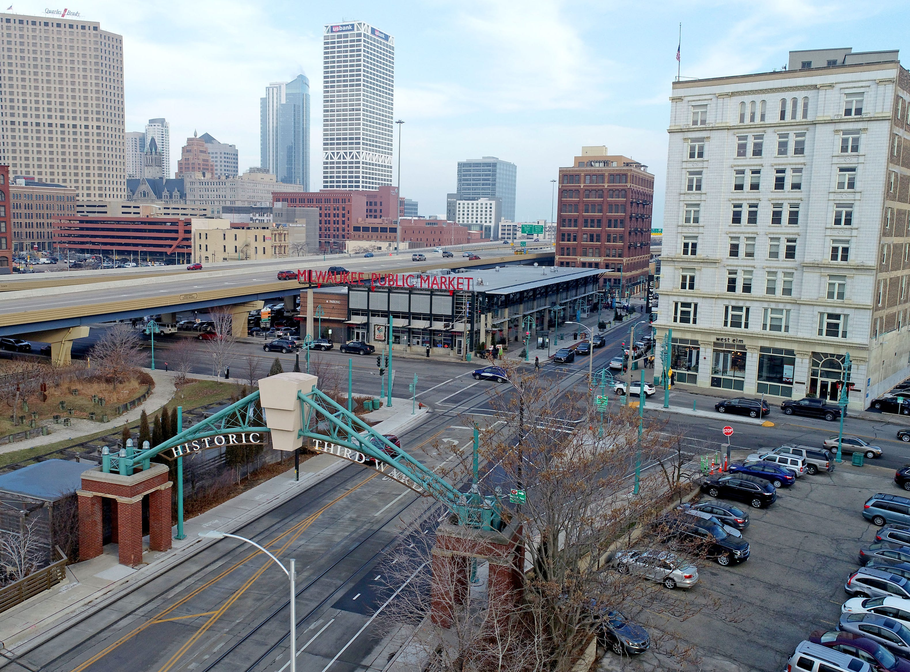 The Historic Third Ward and the Milwaukee Public Market