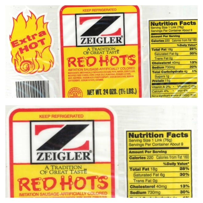 Red Hot recall
