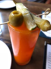 The Bloody Mary at Obstinate Daughter in Charleston, S.C.
