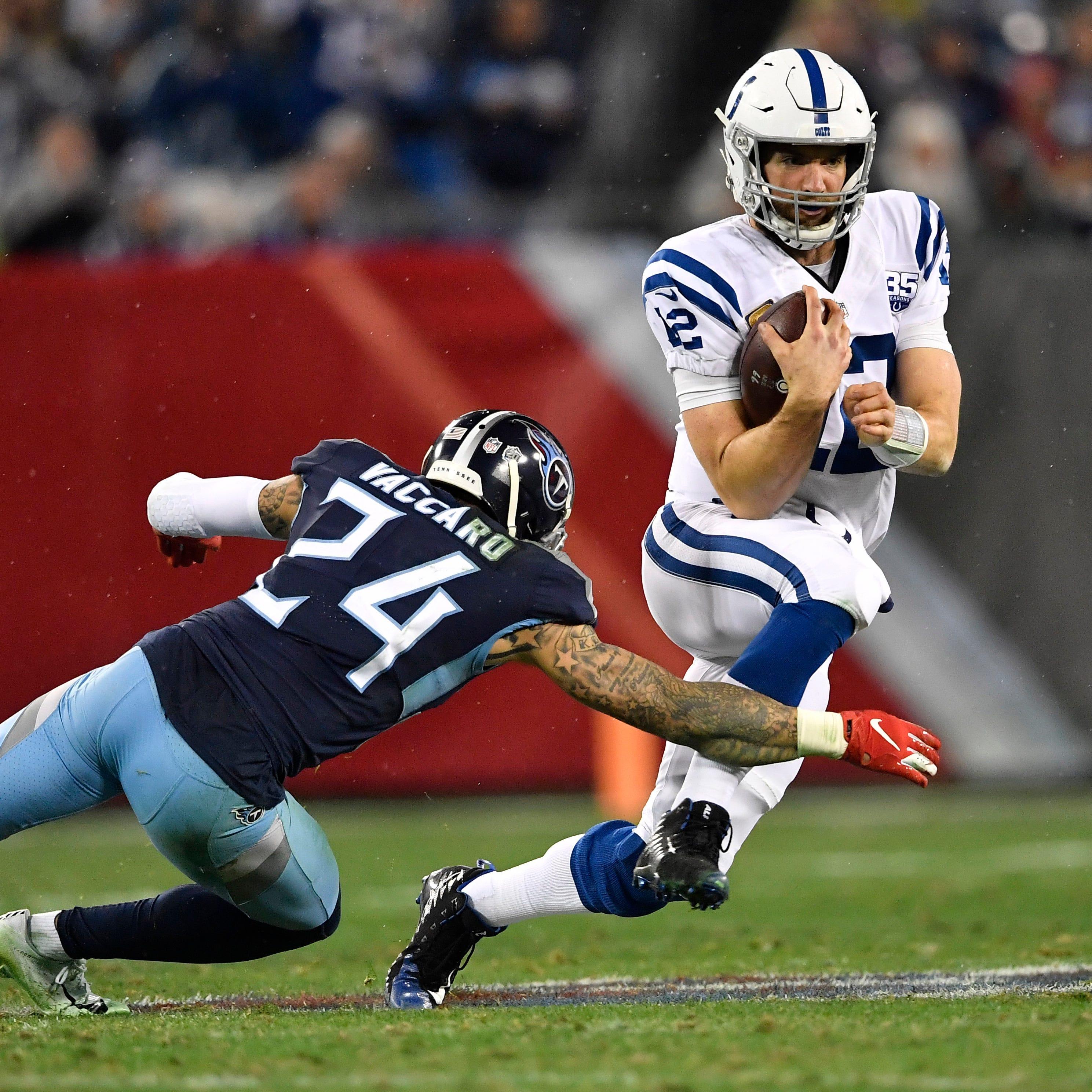 60-second recap: Colts 33, Titans 17