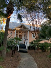 The Cottages on Charleston Harbor offer an idyllic setting with plush comfort.