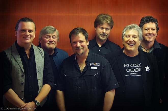The Atlanta Rhythm Section will perform Friday, Jan. 4, 2019, at the Southwest Florida Event Center in Bonita Springs. Tampa native Rodney Justo, second from right, is a co-founding member of the band that formed in 1970.